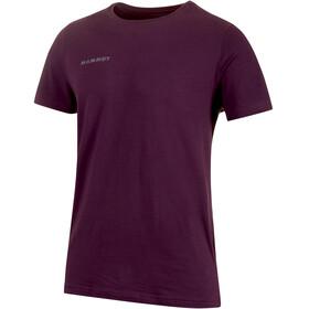 Mammut Logo Bluzka z krótkim rękawem Mężczyźni fioletowy